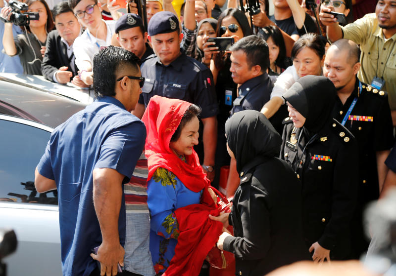 20180605 rosmah arrives at macc.jpg