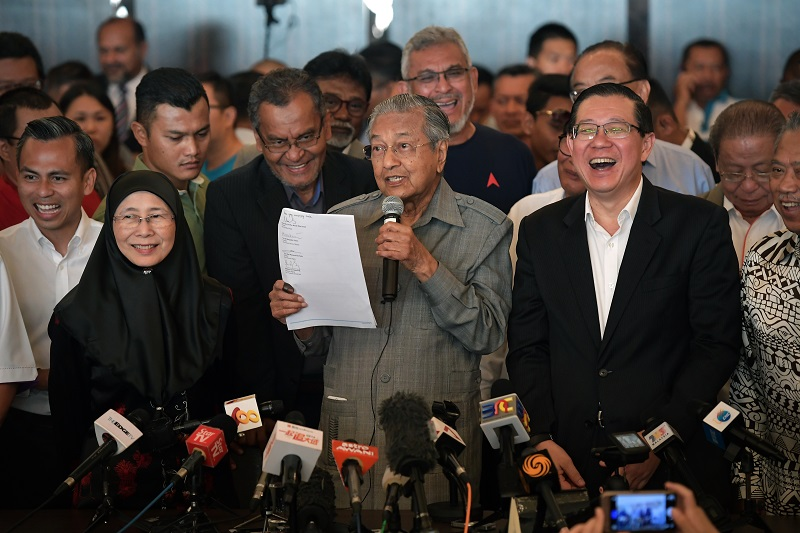 20180614-Mahathir first press conference.jpg