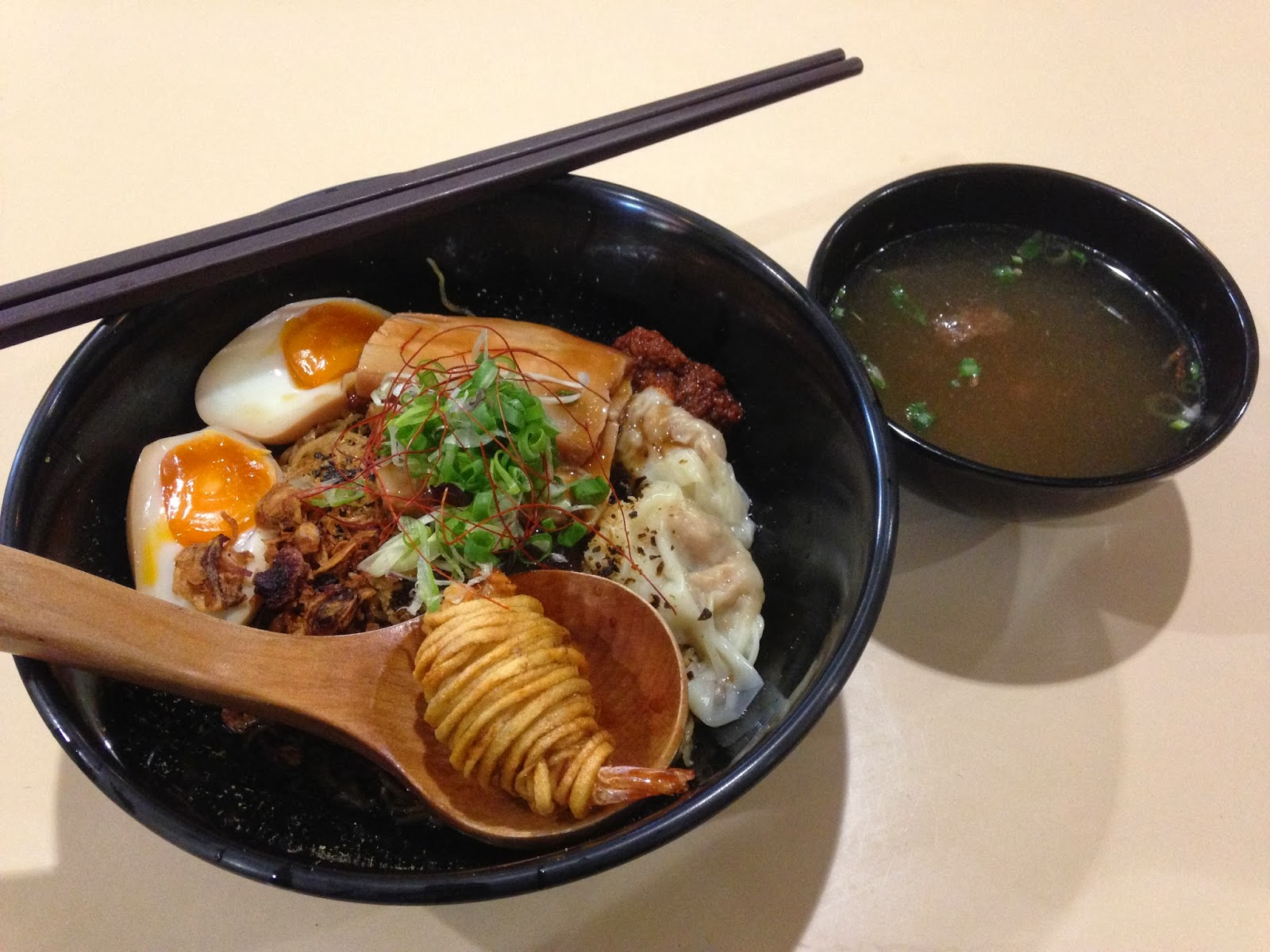 3. A Noodle Story at Amoy Street Food Centre - Singapore Style Ramen.JPG