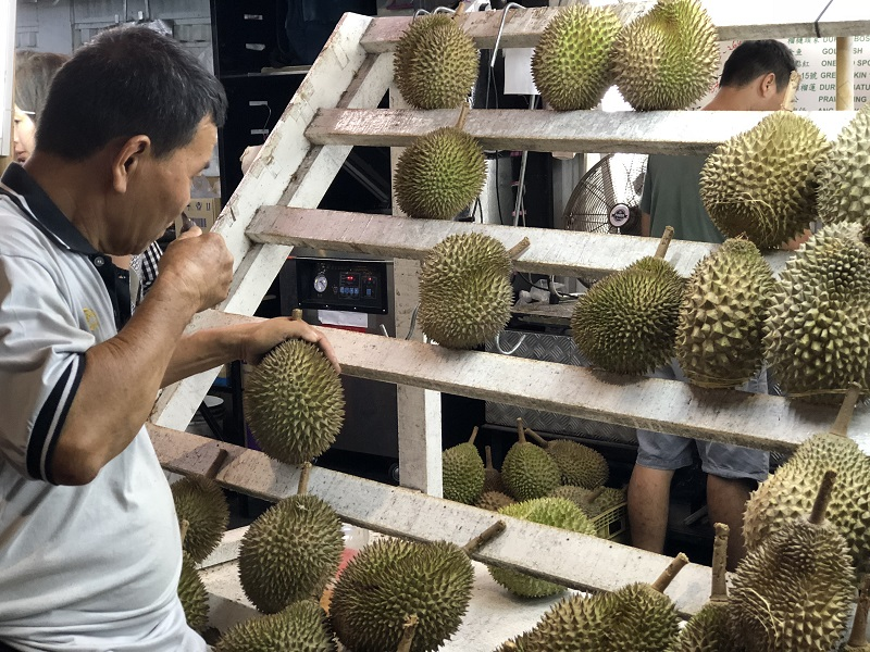 Durian at the stall.jpg