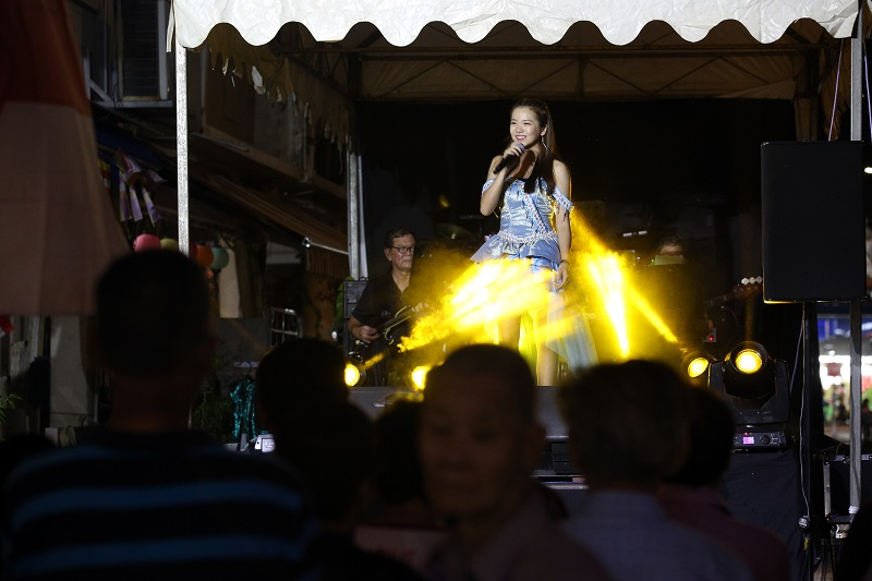 beautiful young lady on getai stage.jpg