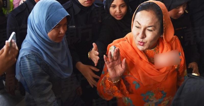 kiss from Rosmah.jpg