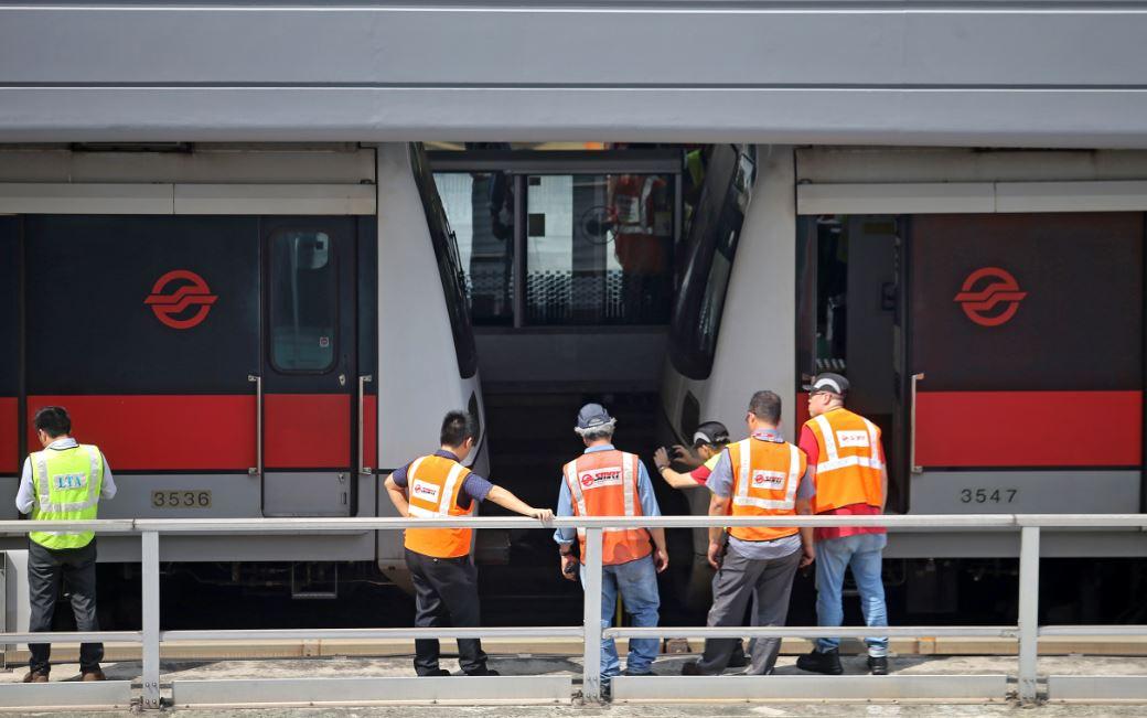 港铁瘫痪前曾进行信号系统升级,供应商和新加坡SMRT同是泰雷兹