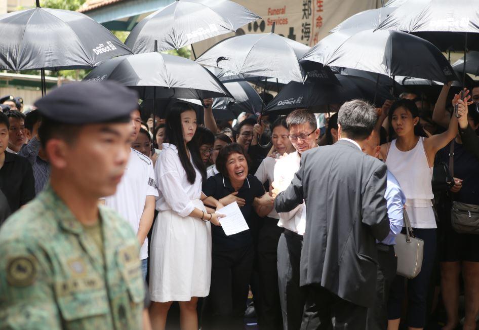 新加坡国民服役士兵刘凯在野外军训中意外丧命