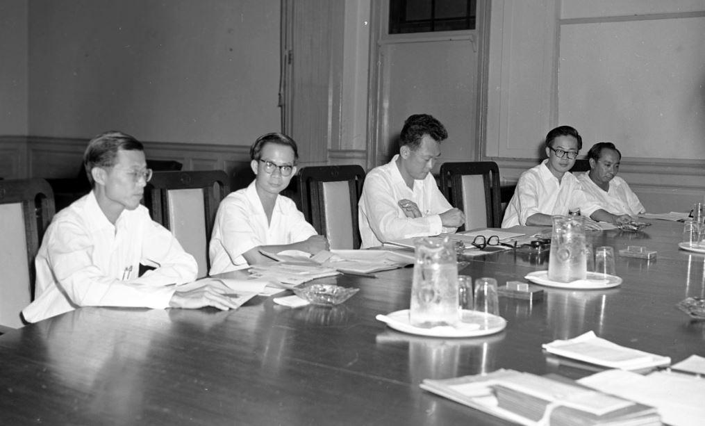1959年担任过新加坡市长的王永元对李光耀的挑战几近成功