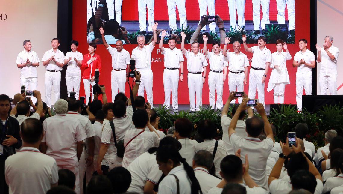 新加坡人民行动党PAP中央执行委员会