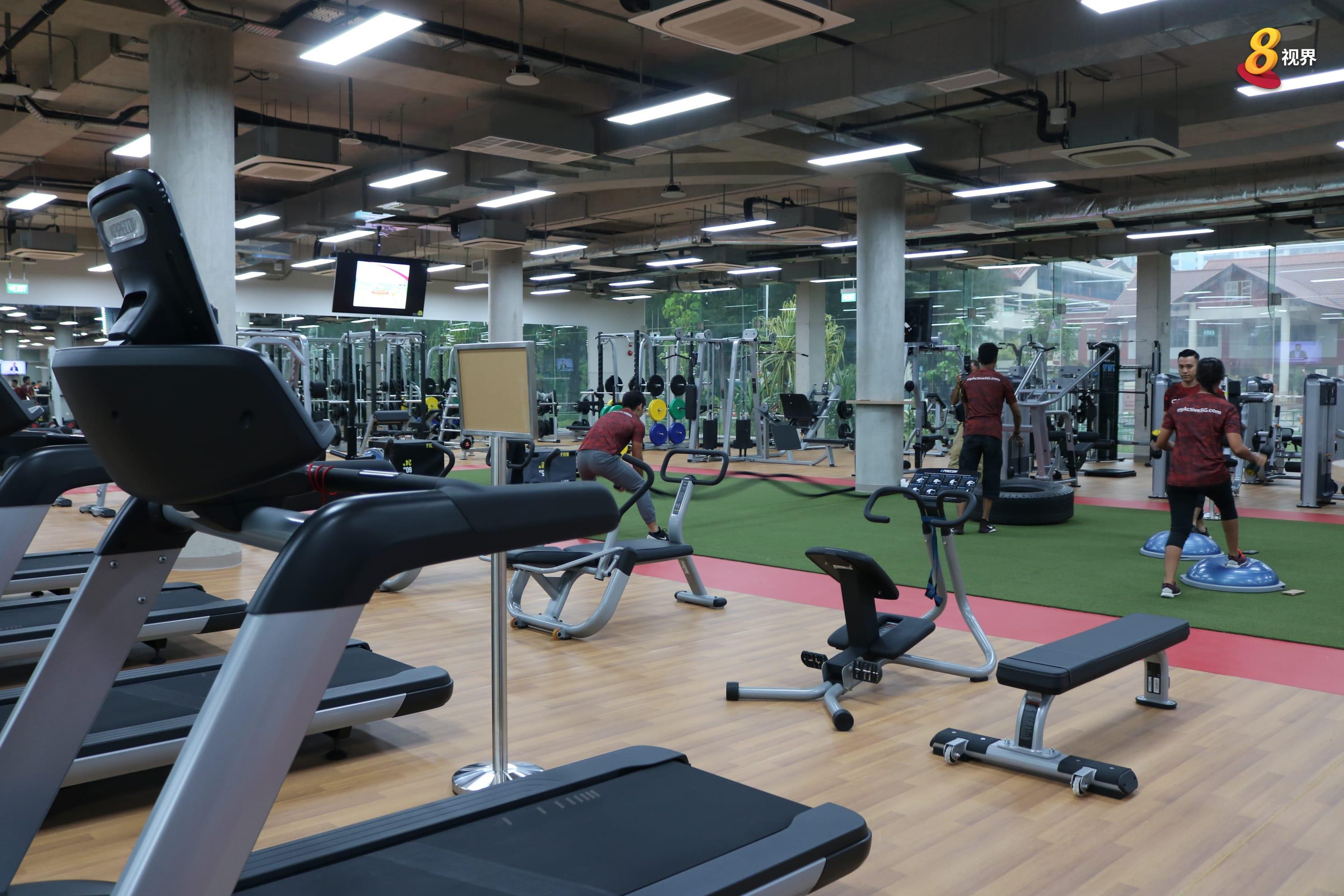 设备齐全的ActiveSG健身房8视界.jpg