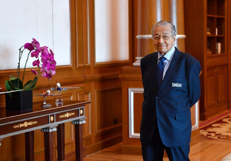 首相敦马哈迪。(图:星洲日报).JPG