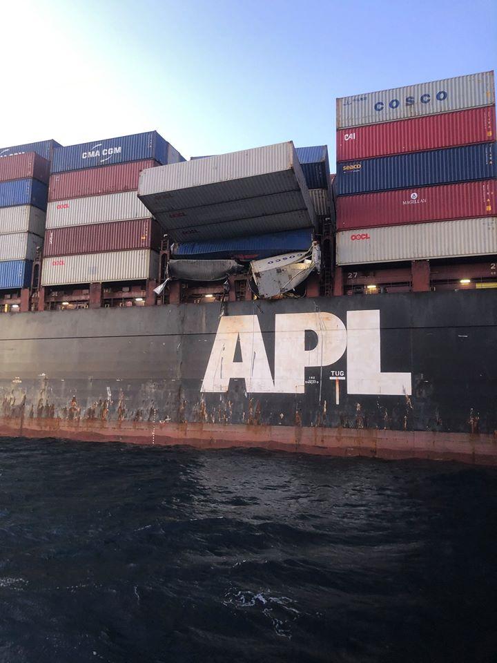 货船目前被扣留接受调查