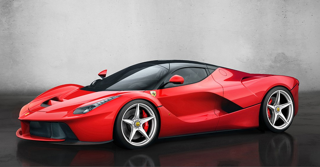 """20201209 - 法拉利""""LaFerrari""""跑车.jpg"""