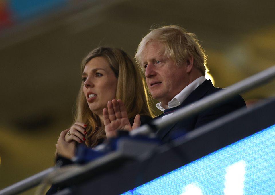 20210714-Boris Johnson and wife.jpg