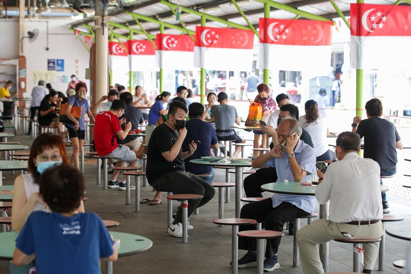 新加坡小贩中心