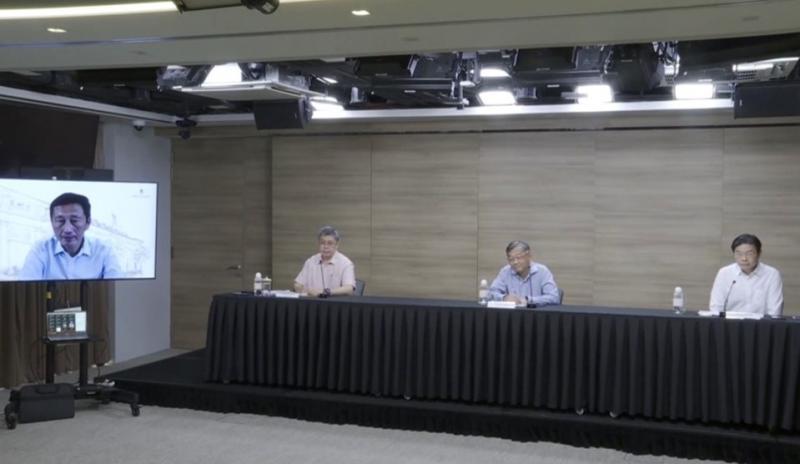 9月10日政府跨部门抗疫工作小组记者会