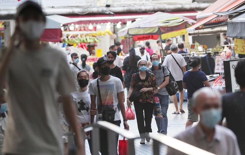 新加坡民众
