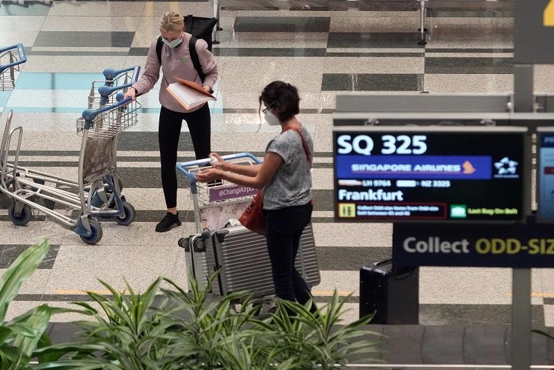首趟通过疫苗接种者旅游走廊计划从德国出发的SQ325航班