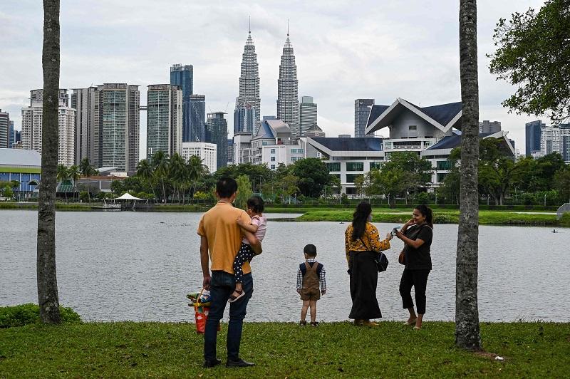 居住在吉隆坡的家庭