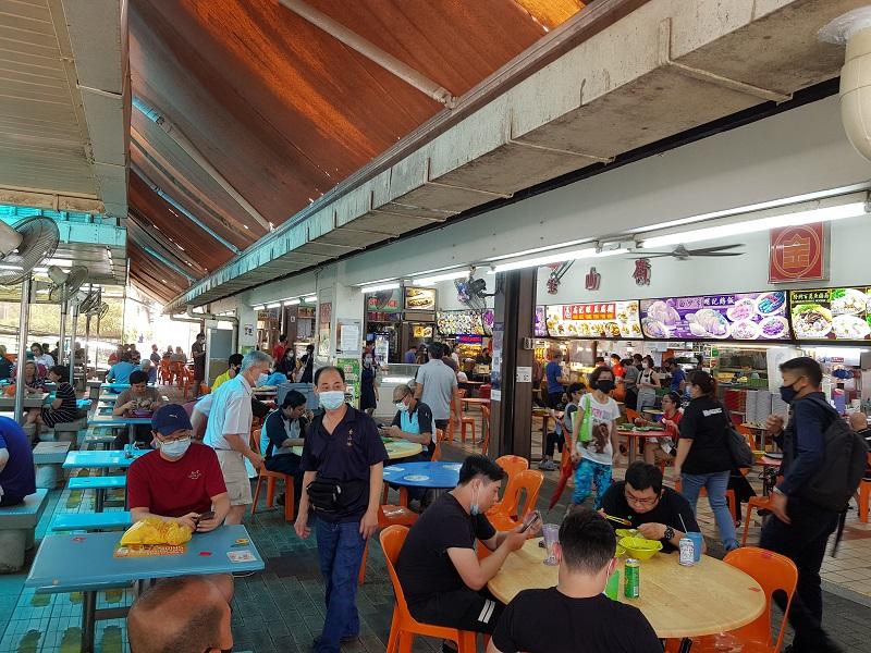 新加坡小贩中心10月13日起不允许未接种者堂食