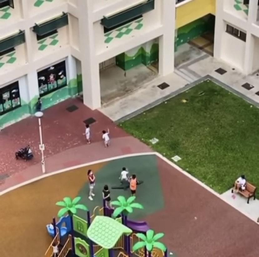 新加坡孩童受鱿鱼游戏影响