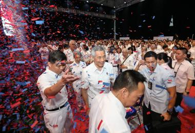PM Lee at PAP Awards and Convention 2017