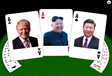 USA North Korea China