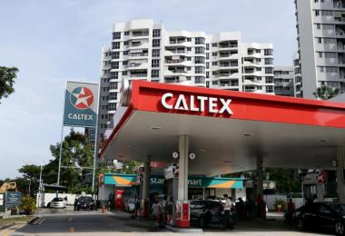 caltex station tampines