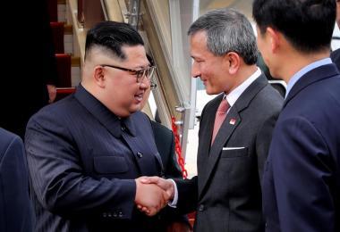 kim jong un and vivian and ong yekung