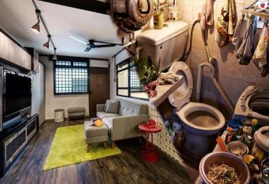 香港劏房和新加坡组屋对比