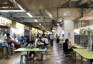 Singapore hawker Centre culture, UNESCO