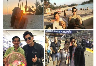 周杰伦,新加坡,旅游,F1,