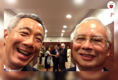 新加坡总理李显龙帮马来西亚前首相纳吉洗黑钱成一马1MDB案重点调查对象?假的!