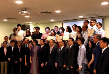 新加坡社会公益联盟活动大合照