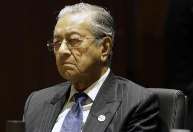马来西亚回锅首相马哈迪。