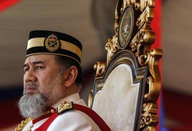 马来西亚元首苏丹莫哈末五世陛下退位