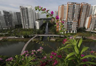 榜鹅水道(My Waterway@Punggol)预购组屋