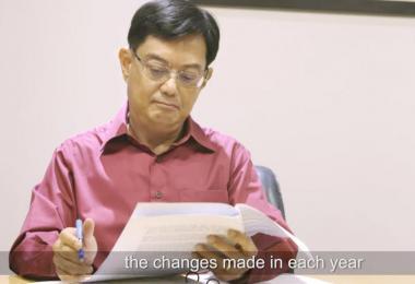 在国会发表财政预算声明之前,财政部长王瑞杰先通过视频,向国人解释预算案意义和幕后筹备工作。