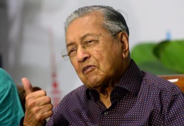 马国首相马哈迪。