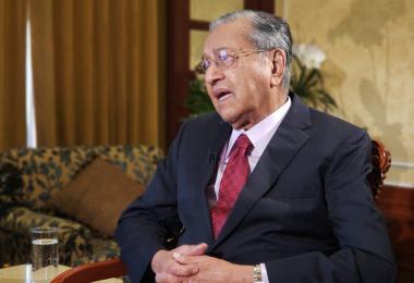 中美二选一 马哈迪:我比较喜欢中国