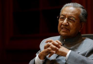 马来西亚首相马哈迪