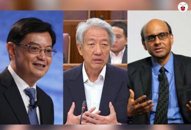 (左起)王瑞杰、张志贤、尚达曼。