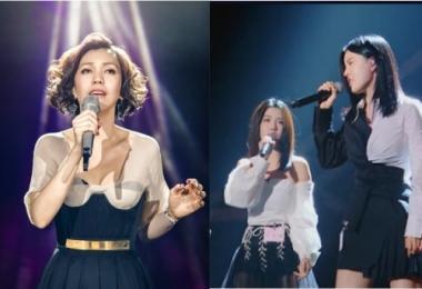 陈洁仪和By2等新加坡歌手,近年来都去了中国发展演艺事业。(互联网/苏羽葳制图)