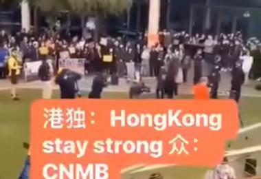 中国留学生怼骂香港留学生。