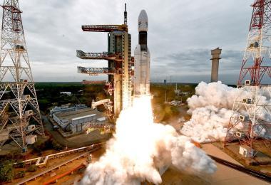 印度发射火箭登月失联
