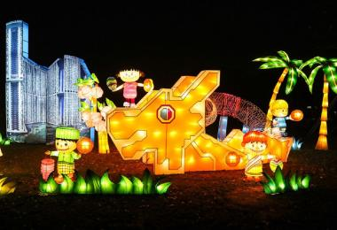 """中秋节已经成为新加坡7月21日的种族和谐日之外的最新""""种族和谐日"""",也是政要们忙着在网上打卡的非公定假日"""