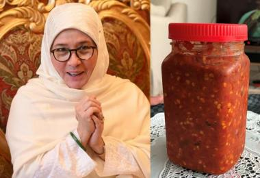 东姑阿兹莎阿米娜的叁峇辣椒酱