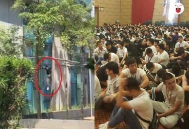 近千名中国老千在马国被追捕 上演成龙特技跳楼逃亡