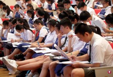 超过70%的新加坡学生害怕失败。