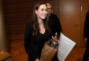 Finnish minister Sanna Marin, 34, to become world's youngest PM