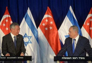 李显龙总理首次访问以色列