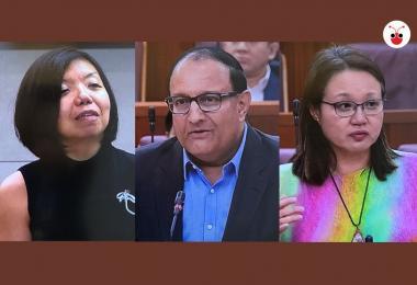 易华仁:POFMA并不是用来对付政党