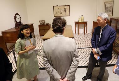 林学芬与丈夫李显扬
